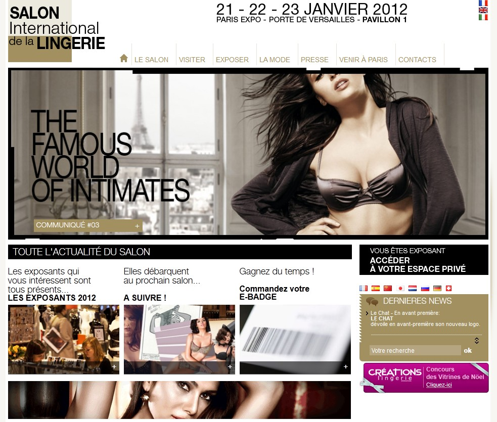 salon international lingerie