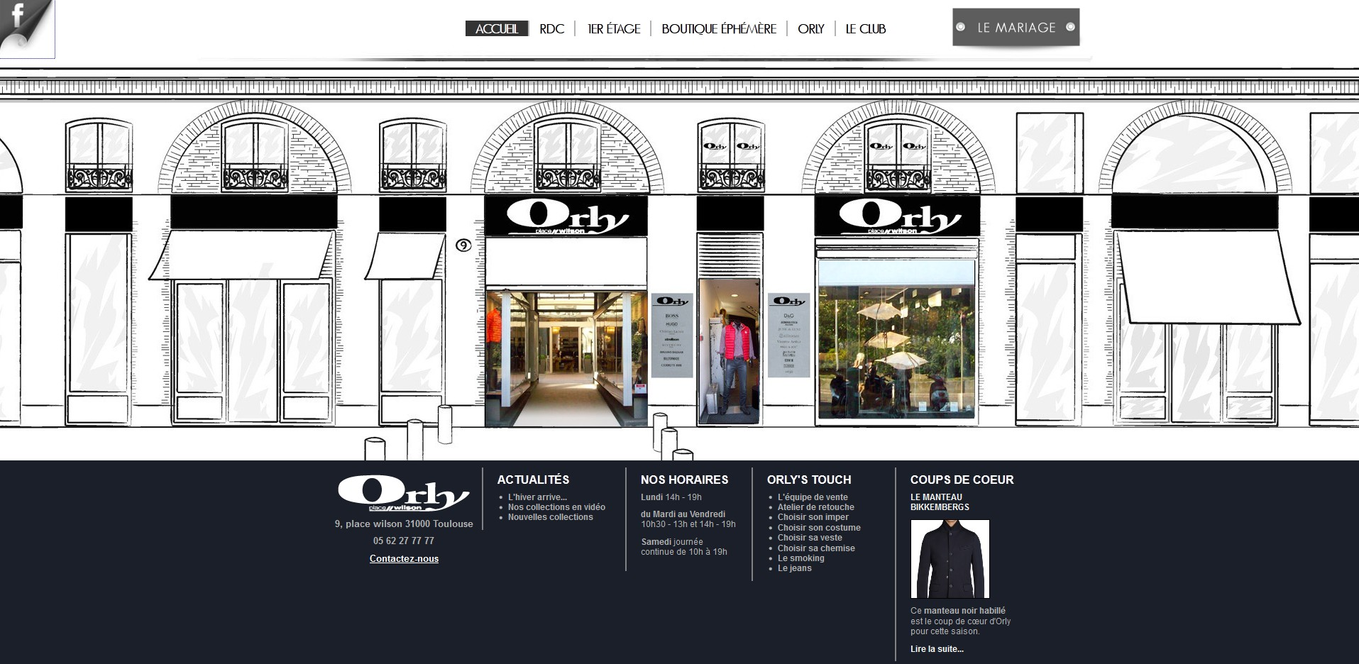 Boutique Orly Toulouse