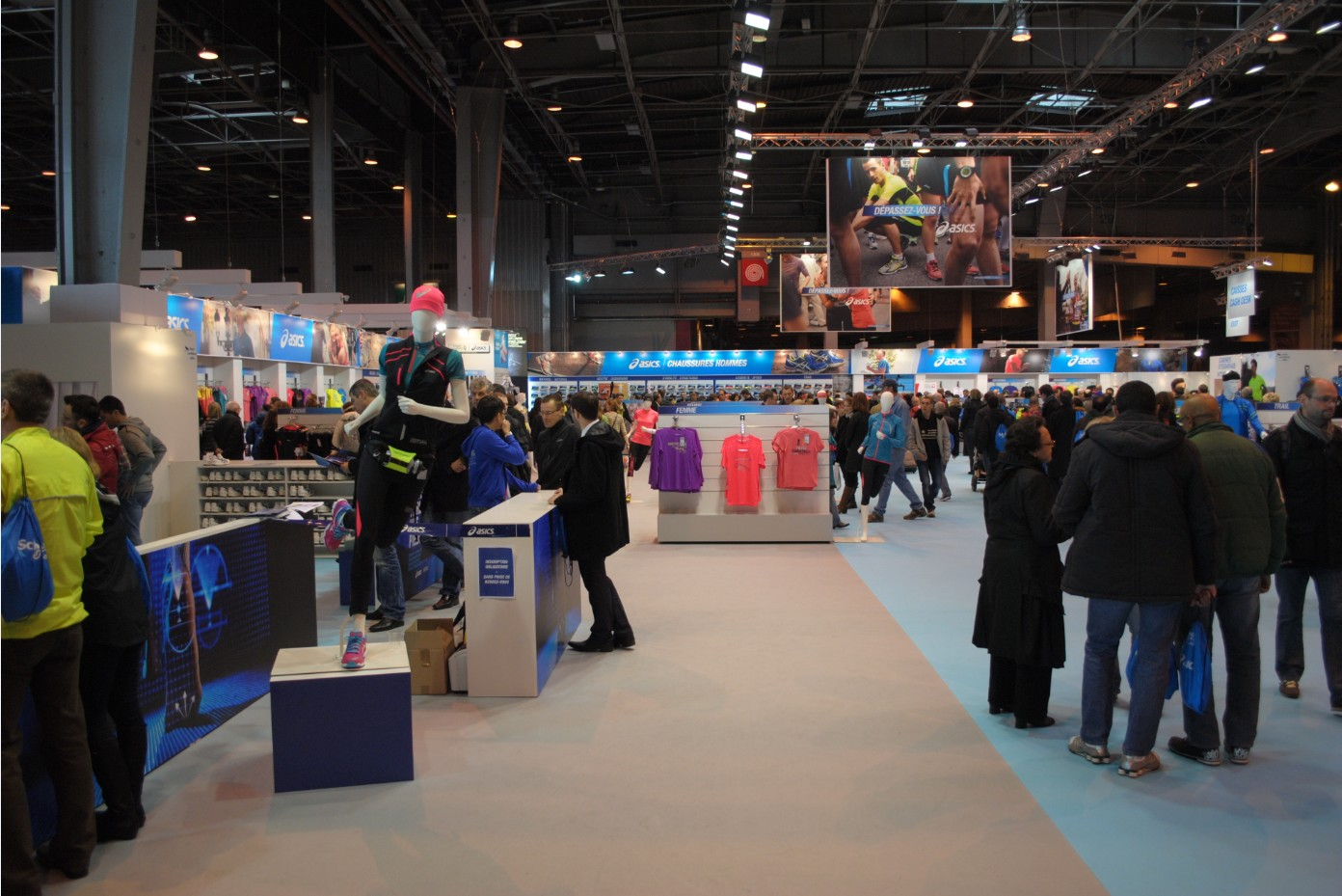 Asics au salon running expo 2013 vega stiac for Salon exposition