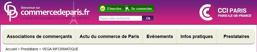 associations commerçants paris
