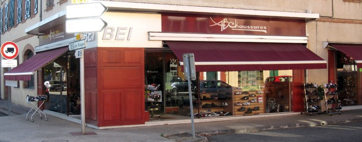 magasin chaussures ABChaussures BEI