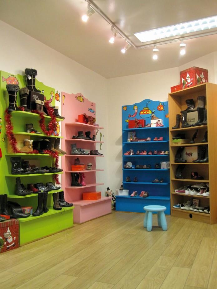 magasin chaussures enfant jacky kids orange