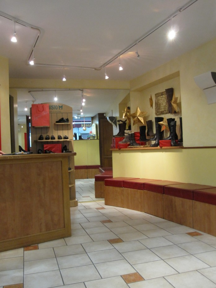 magasin chaussures jacky orange