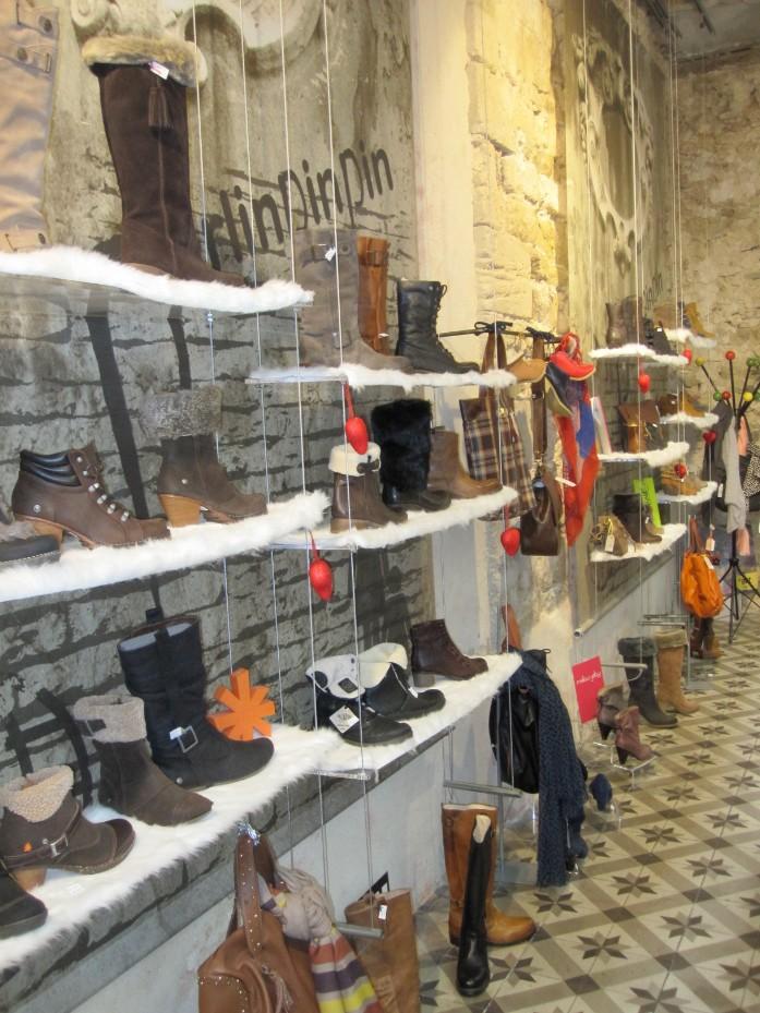 magasin chaussures perlinpinpin carpentras