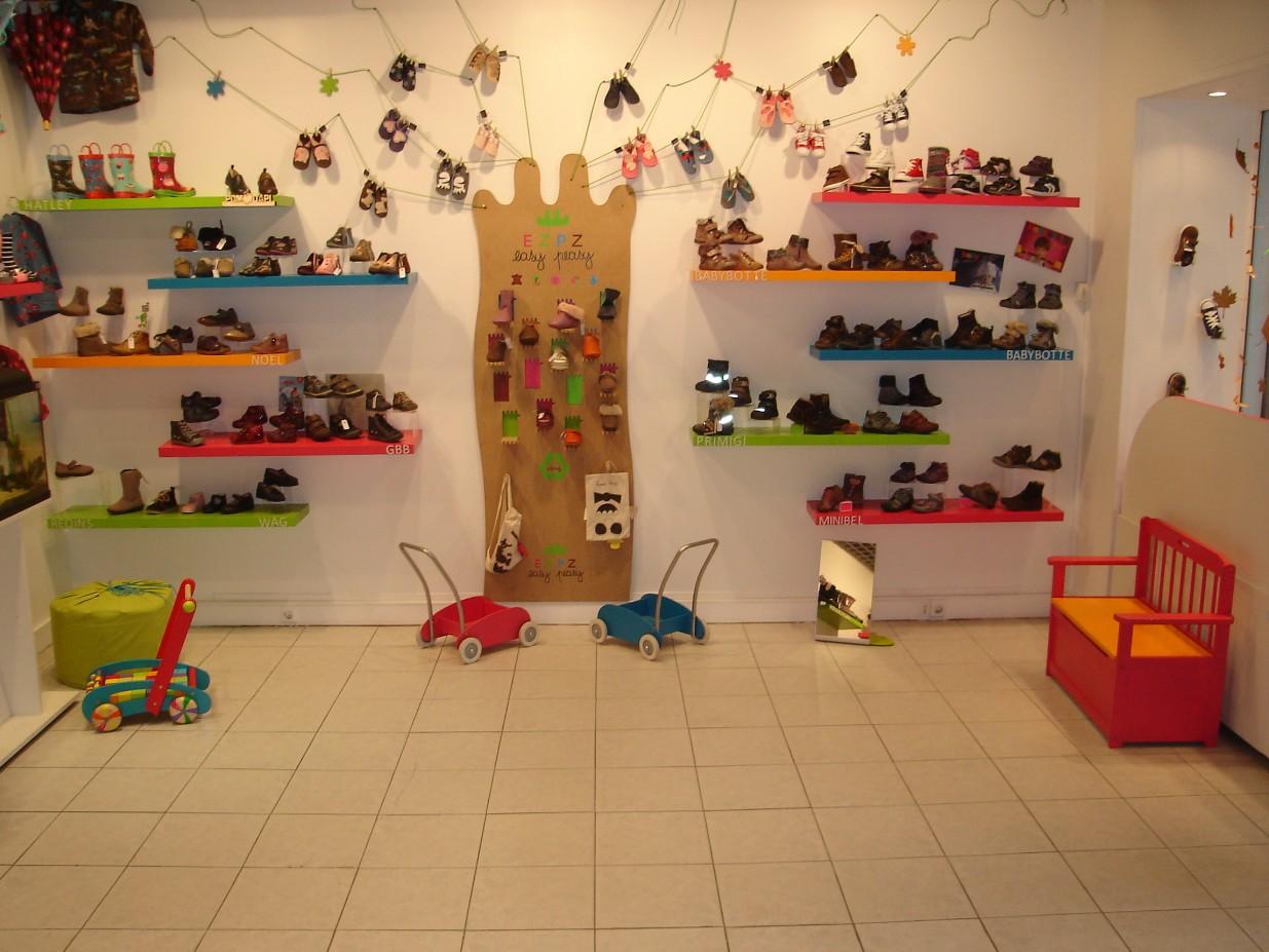 boutique chaussures une paire deux pieds paris