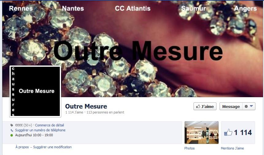 outre mesure facebook