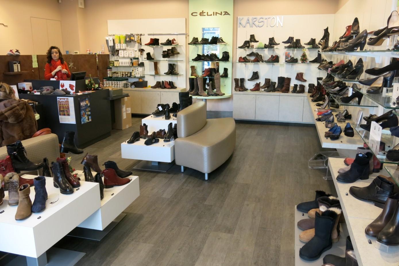 La boutique de chaussures c lina antony vega stiac for Salon de la chaussure