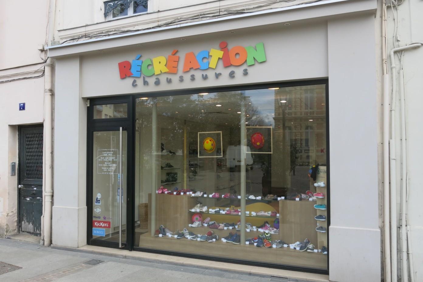 boutique recre action chaussures