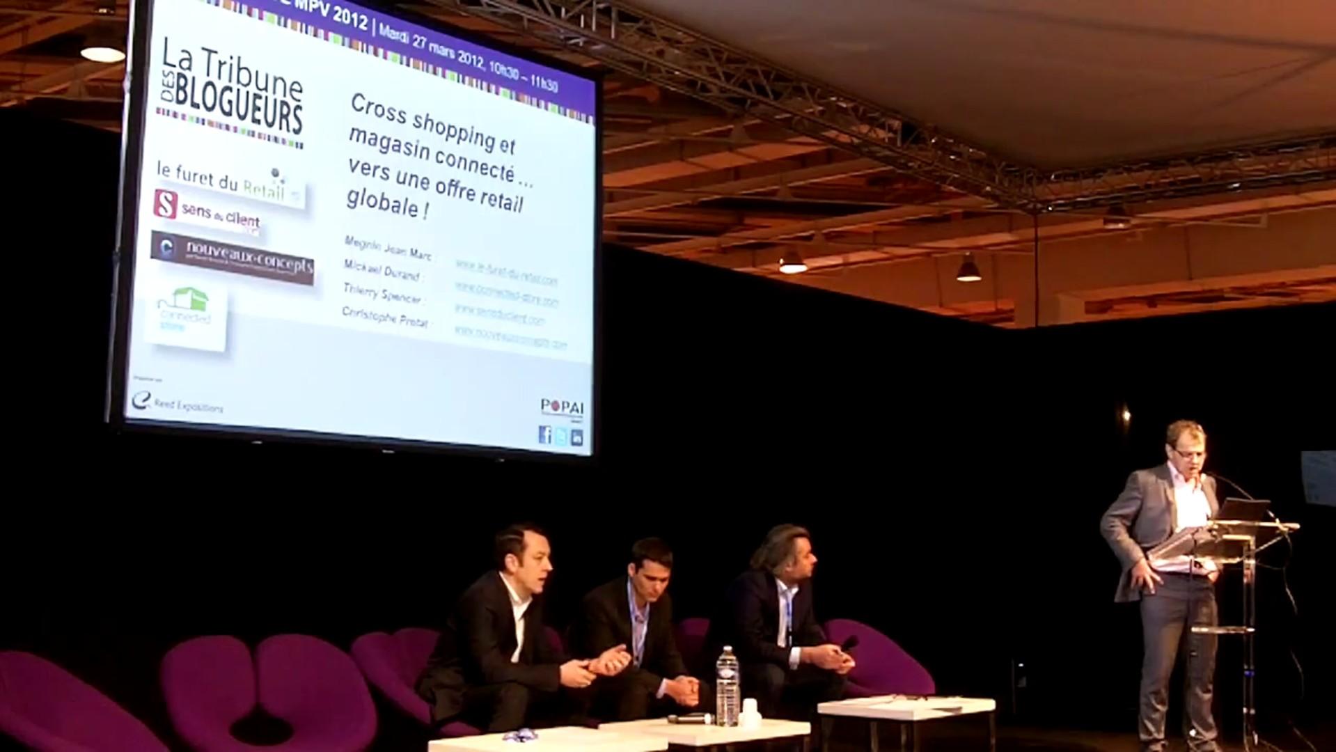 conférence salon MPV marketing point de vente 2012