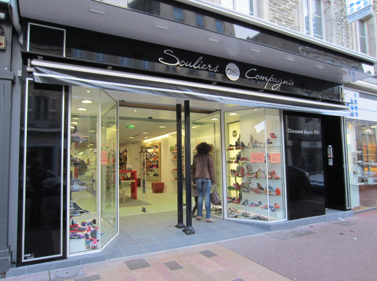 magasin chaussures souliers et compagnie