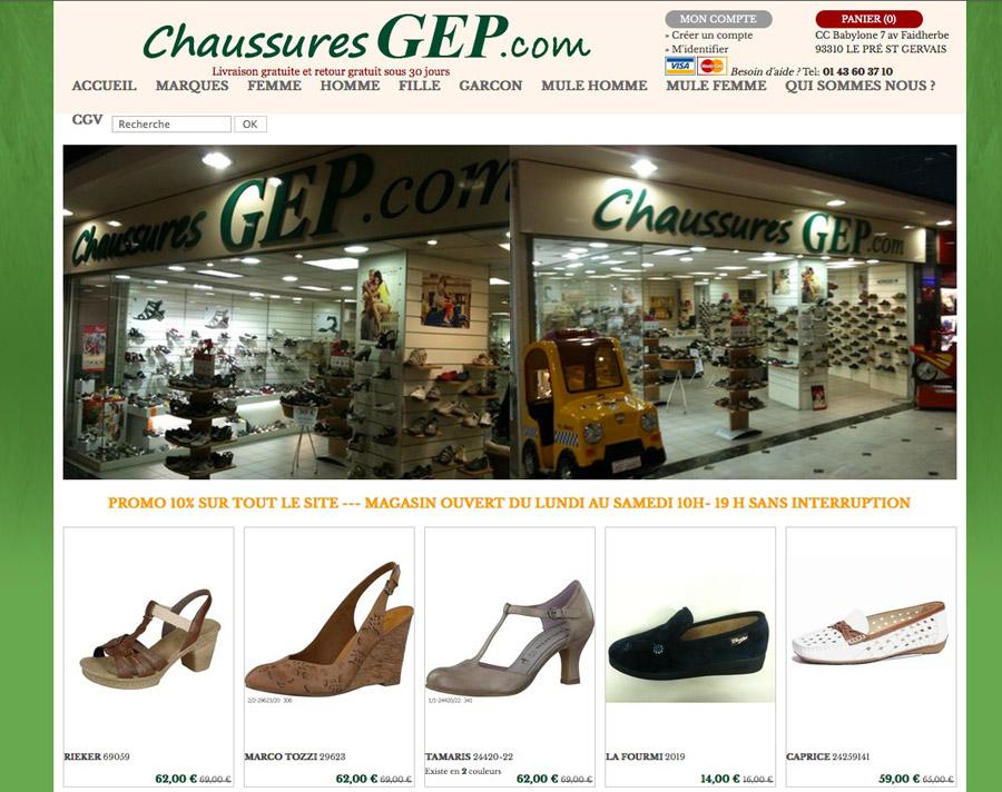 Chaussures GEP f050b8d47786