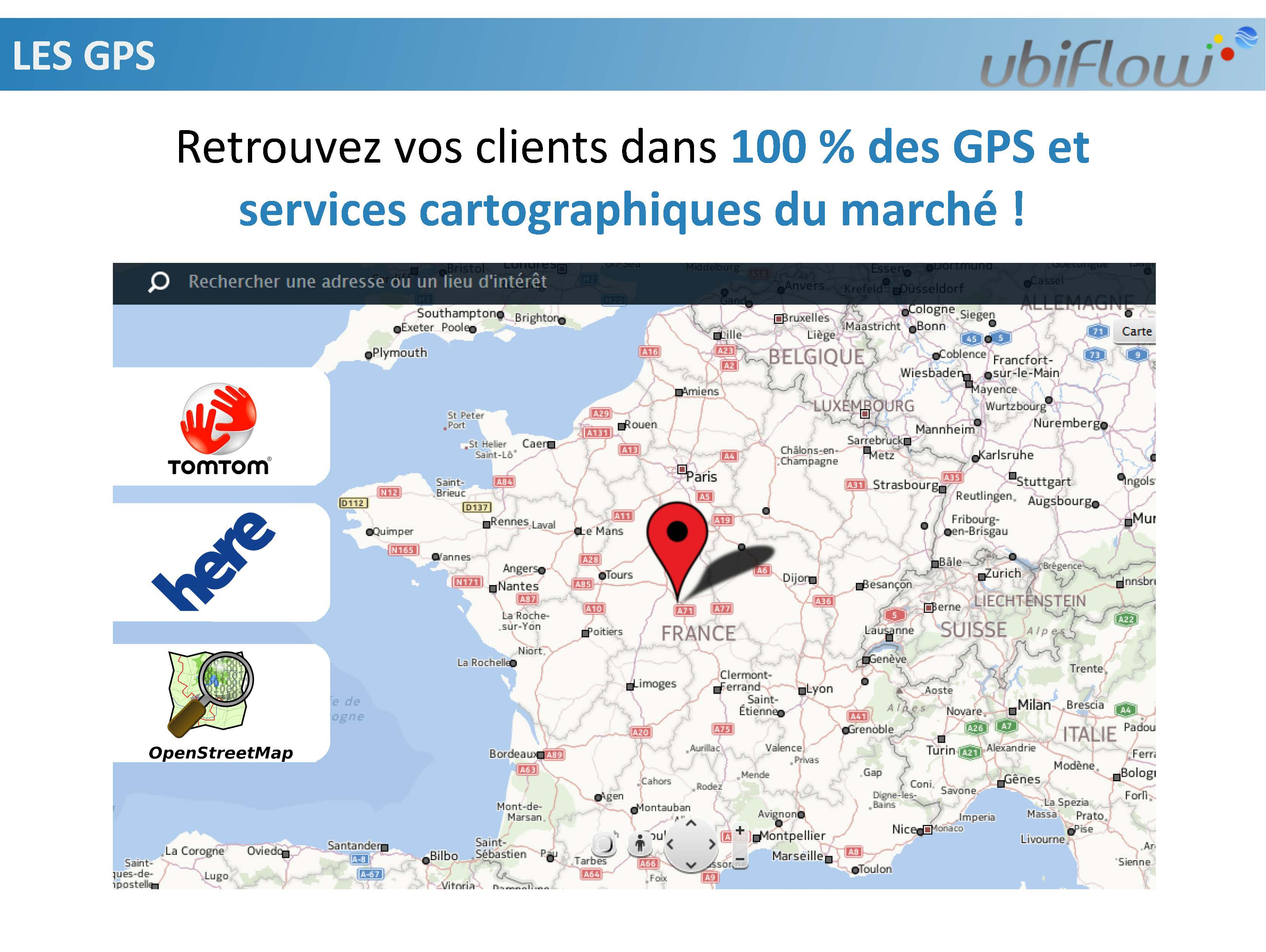 cartographies, gps, local seo