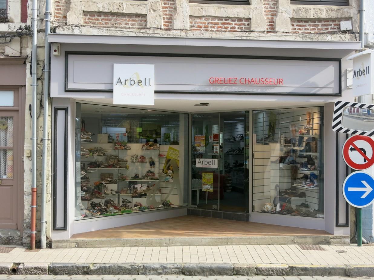 boutique chaussures arbell ayre sur la lys