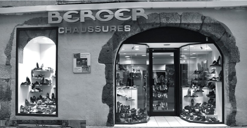 boutique berger chaussures