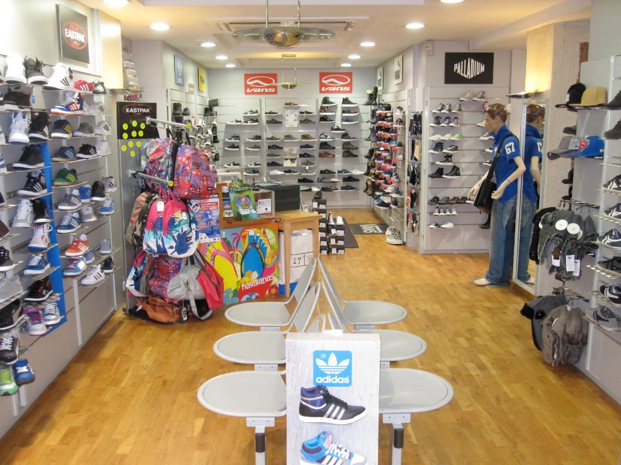 boutique chaussures bitume