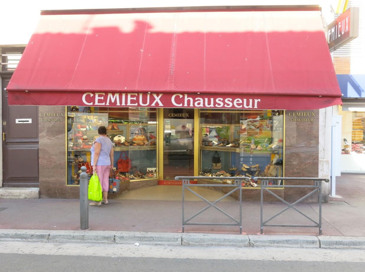boutique cemieux chausseur