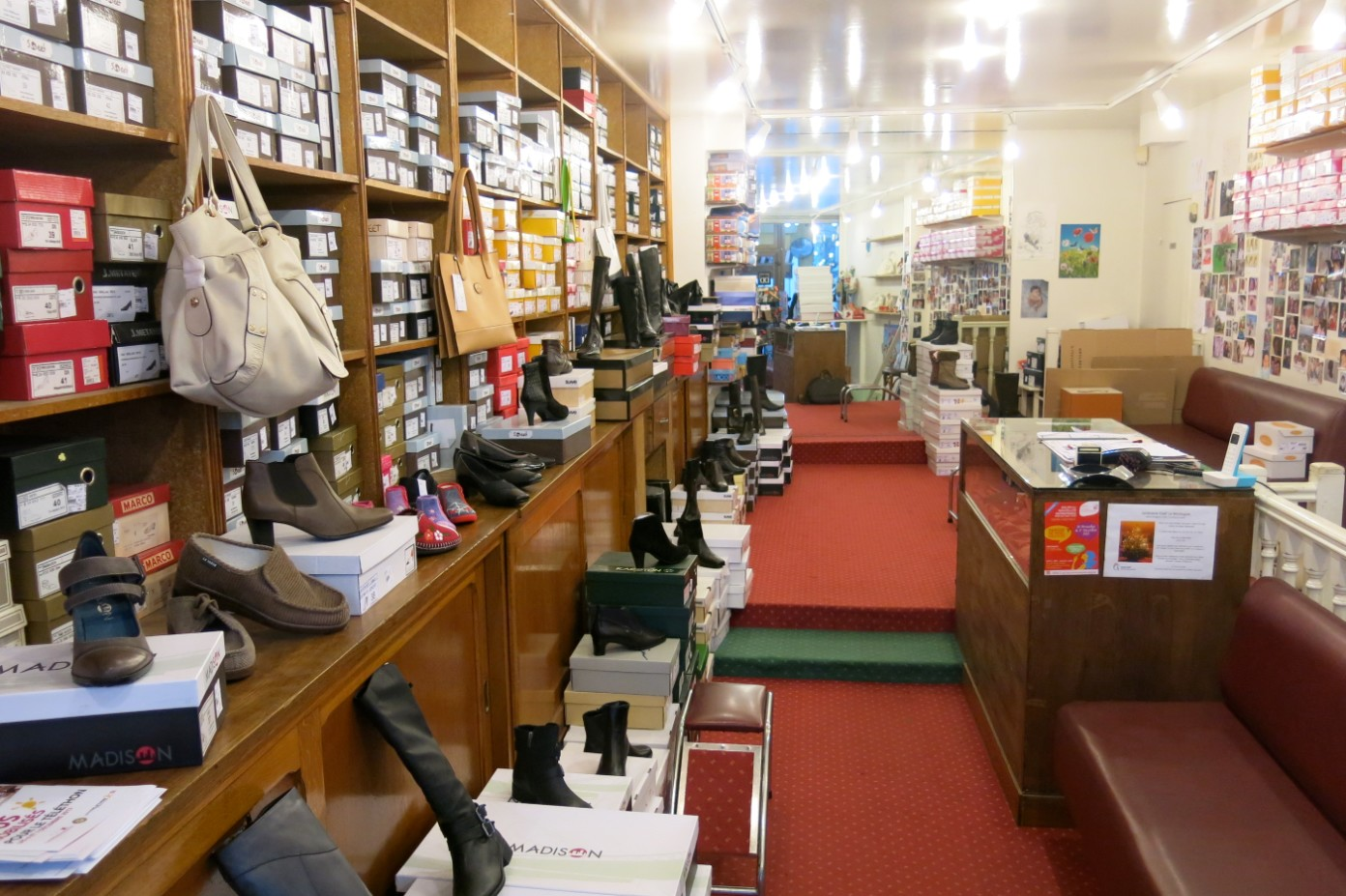 magasin chaussures duforest
