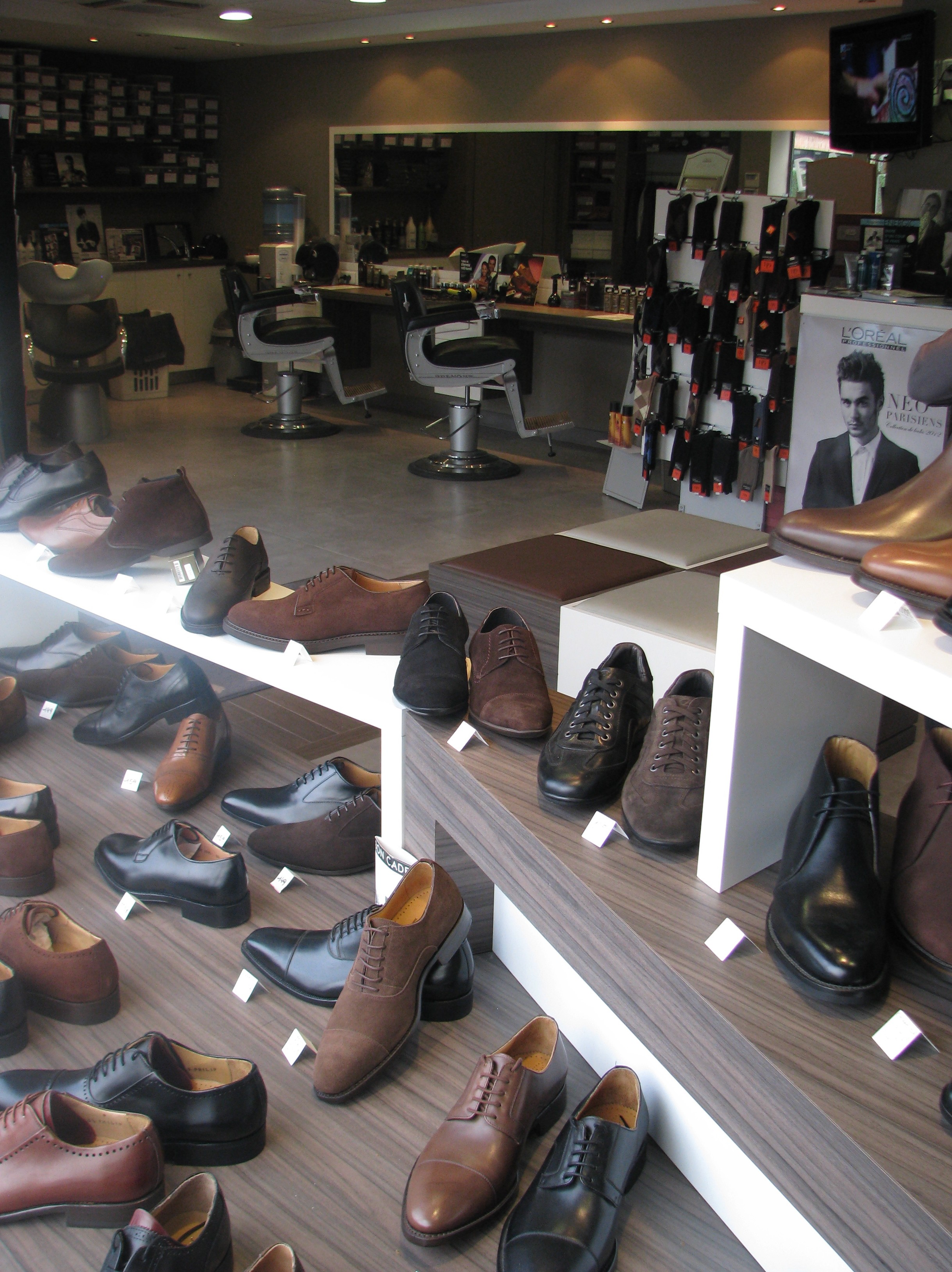 magasin chaussures extremites