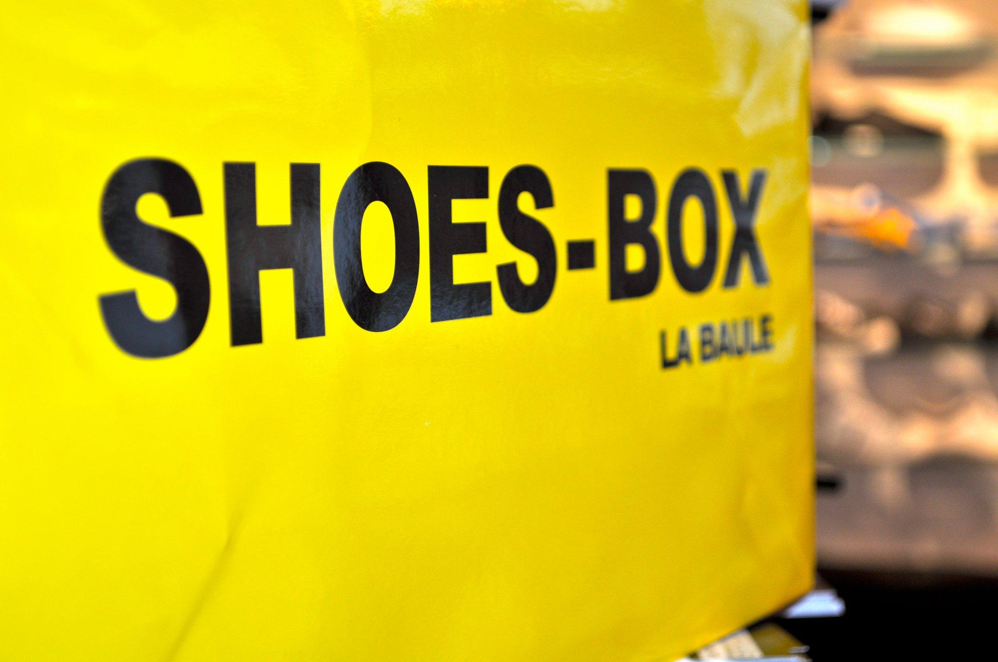 Boutique de chaussures Shoes Box à La Baule