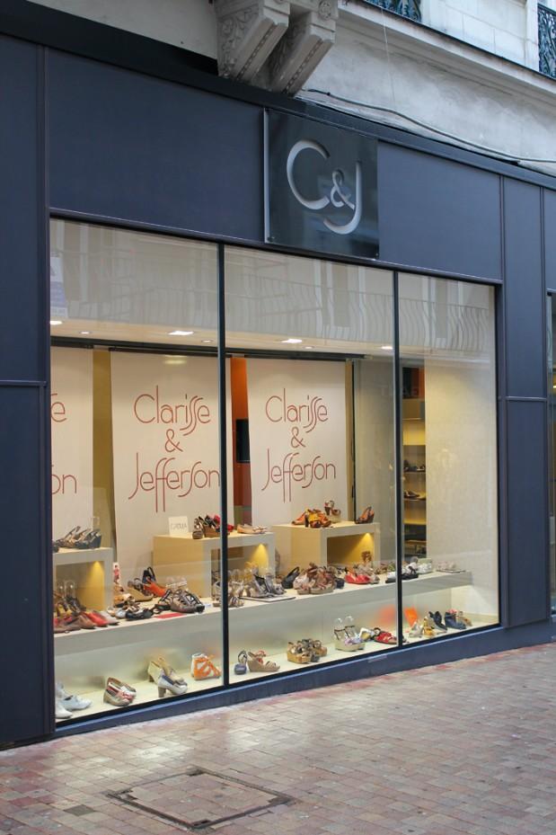 boutique chaussures clarisse et jefferson