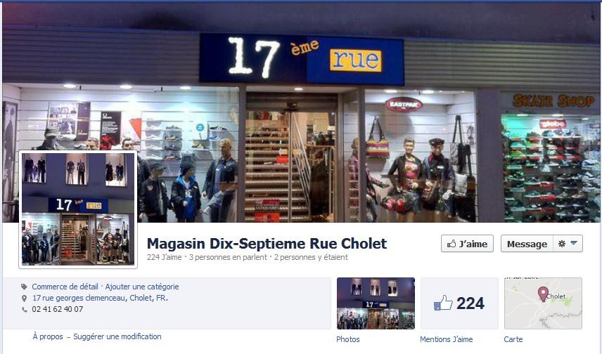 boutique 17eme rue