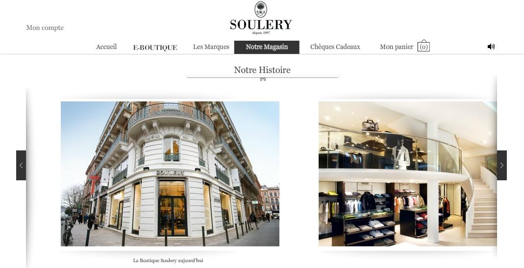 Soulery, l'enseigne de mode masculine haut de gamme à Toulouse