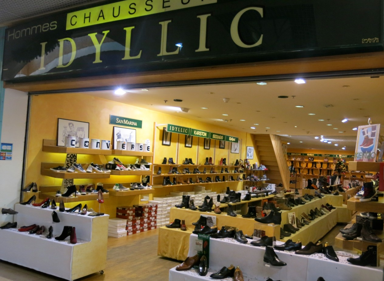 boutique chaussures idyllic