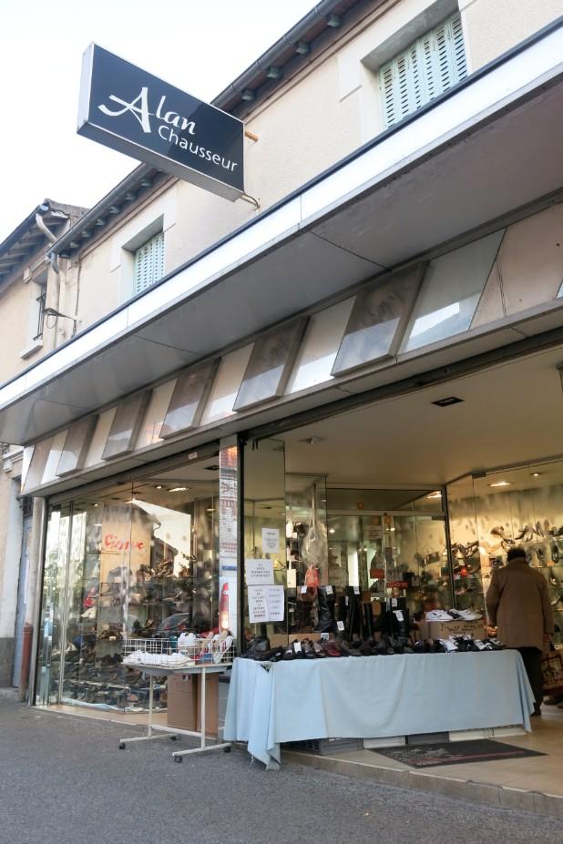 boutique chaussures alan chausseur