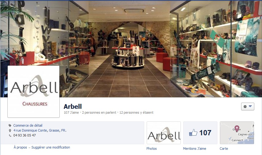 facebook chaussures arbell grasse