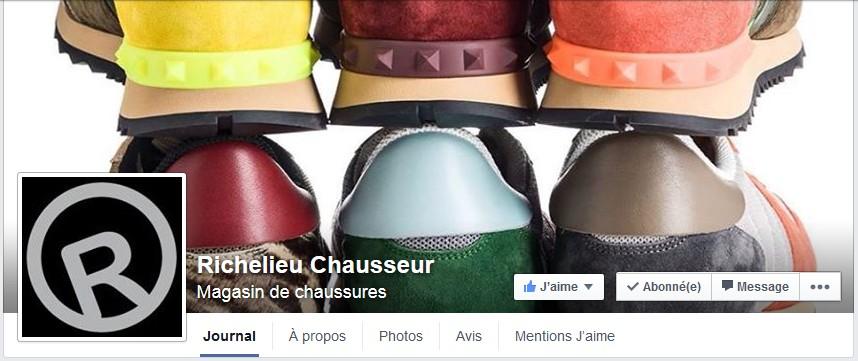 facebook richelieu chausseur