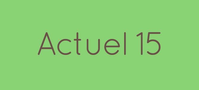 Actuel 15