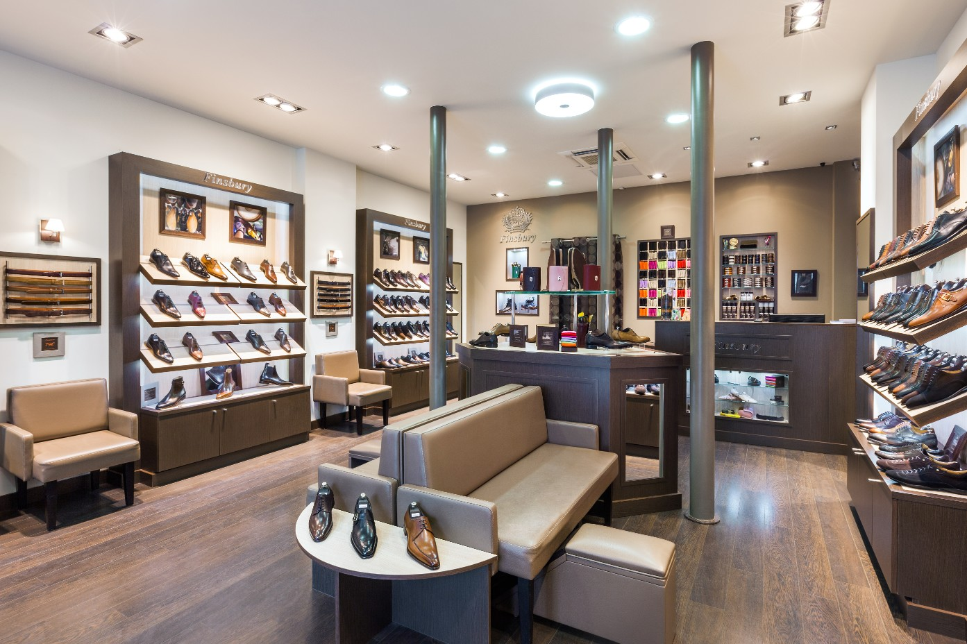 magasins chaussures finsbury