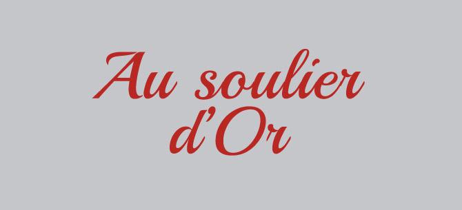 Au soulier d'or