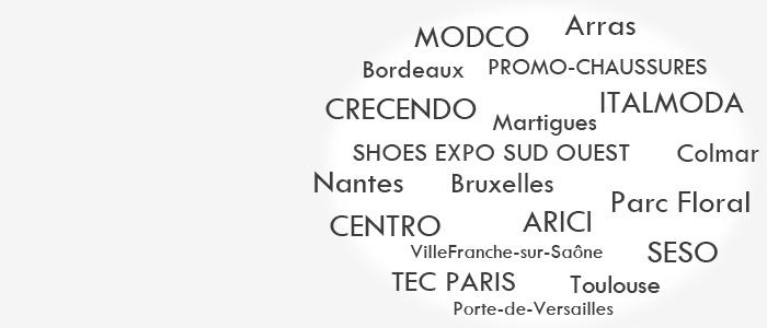 Salons de la chaussure 2017