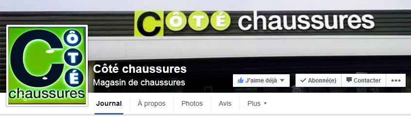 cote chaussures facebook