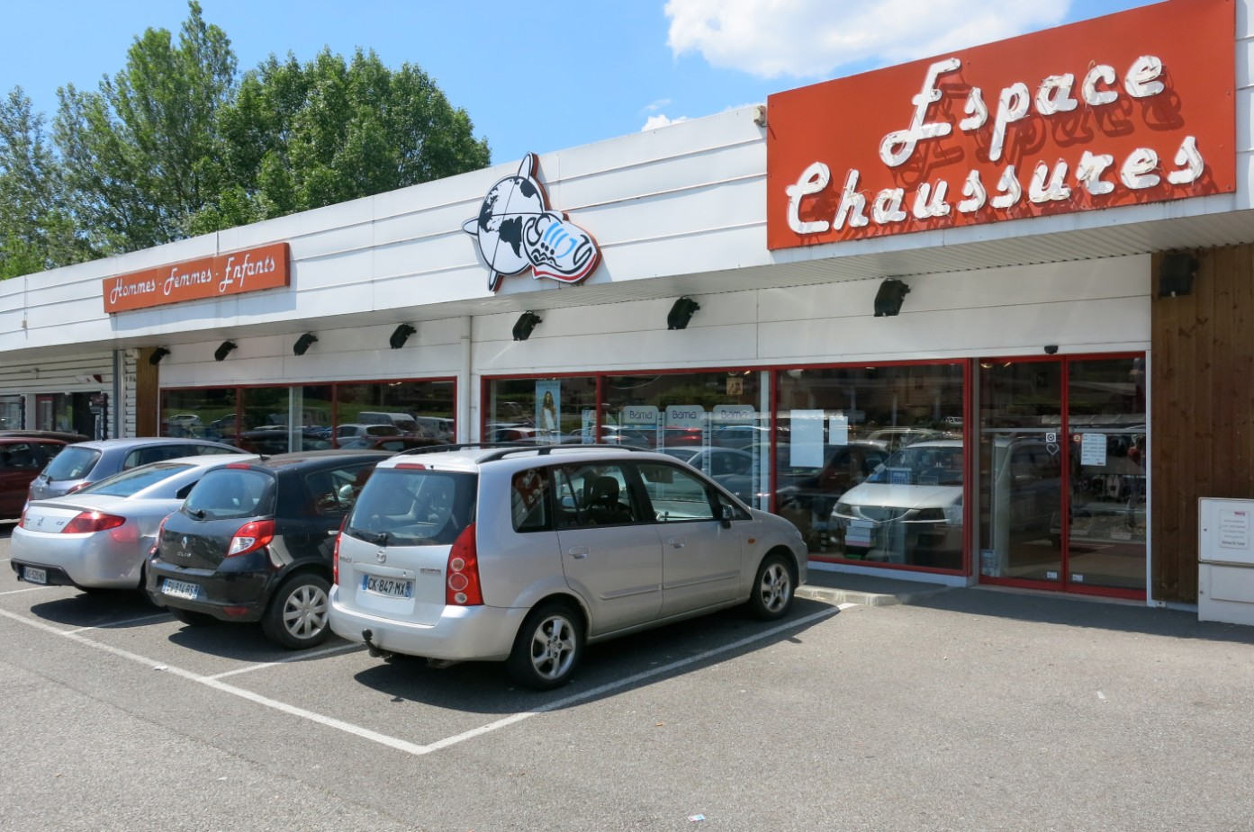 magasin espace chaussures