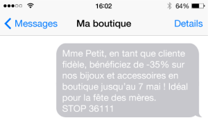 mailing sms