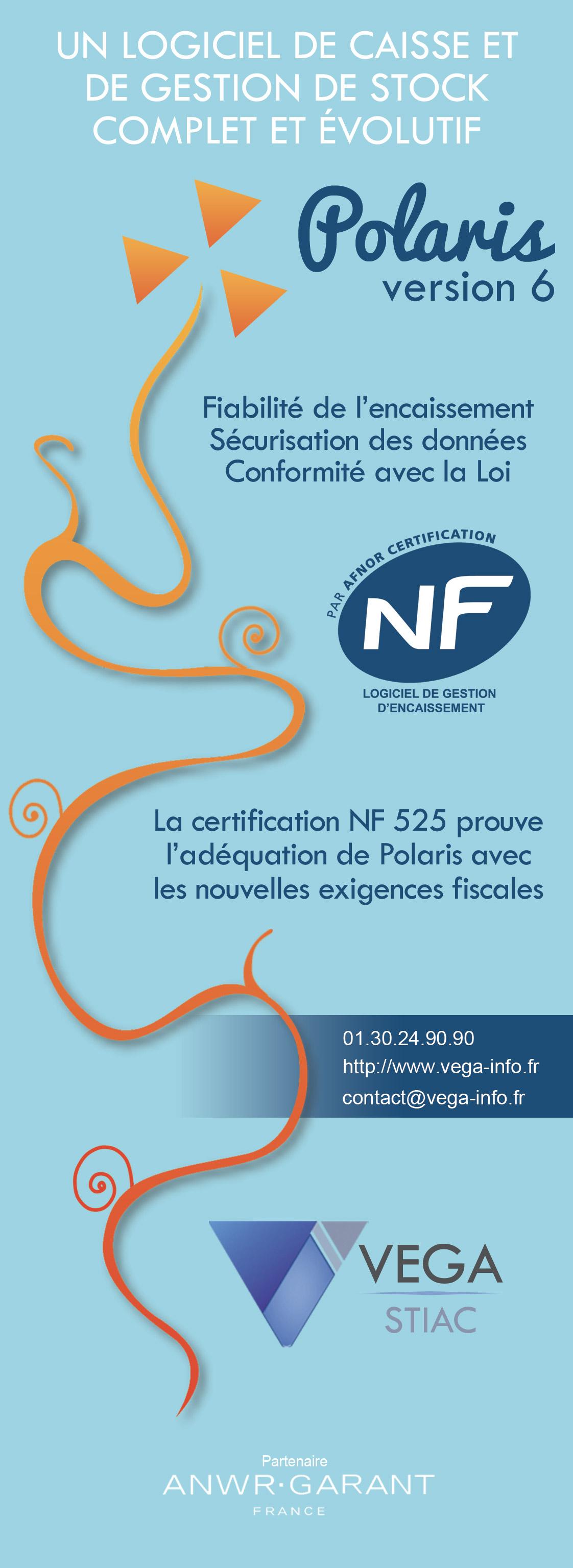 logiciel caisse certifié nf 525